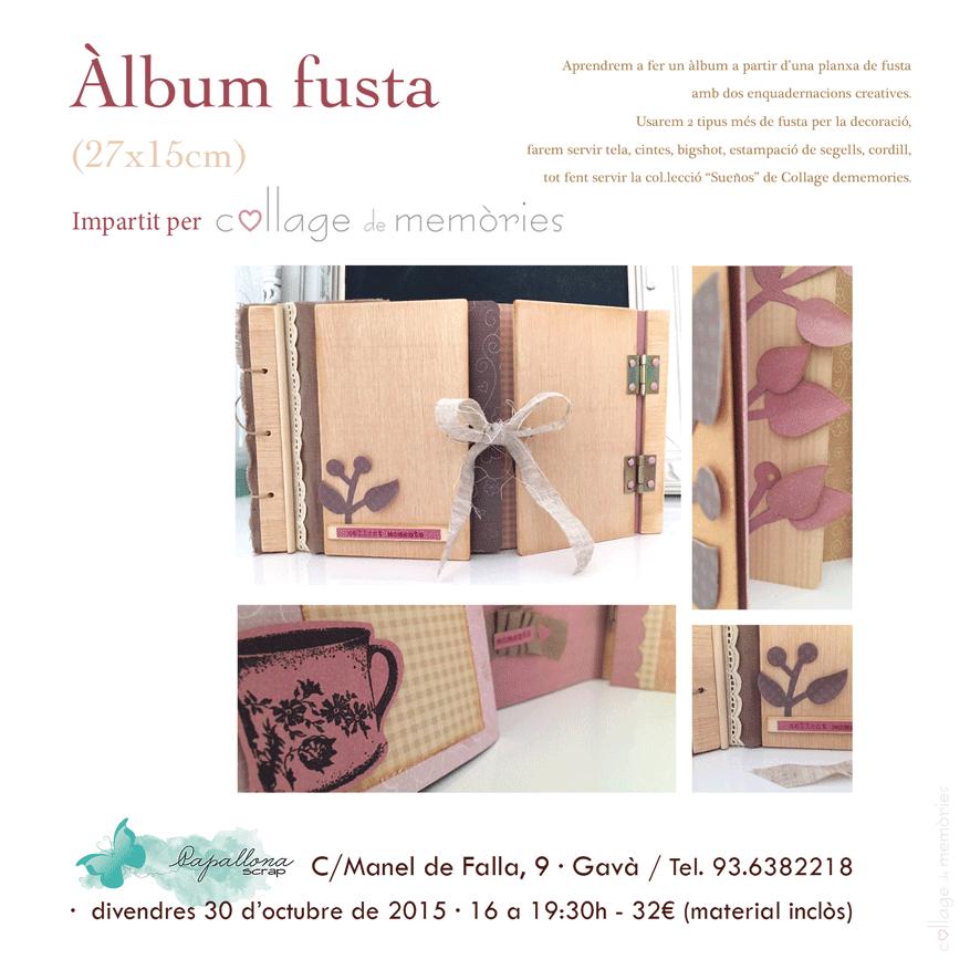 Taller álbum de fusta - Gavà