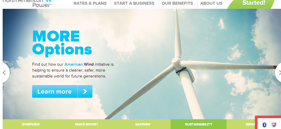 Wind Power = Less Carbon