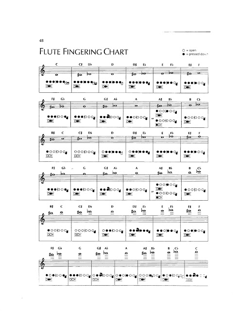 Image result for flute fingering chart