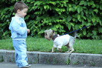 dogs teach kids responsibility