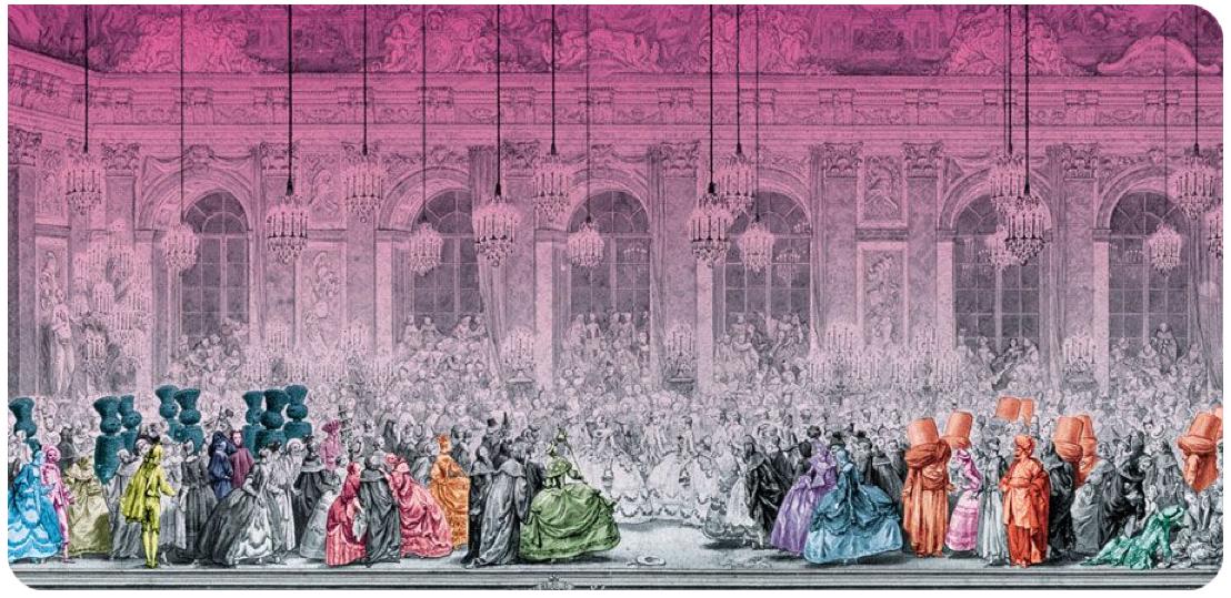 La parigi di maria antonietta il carnevale di venezia a for Charles che arredo la reggia di versailles