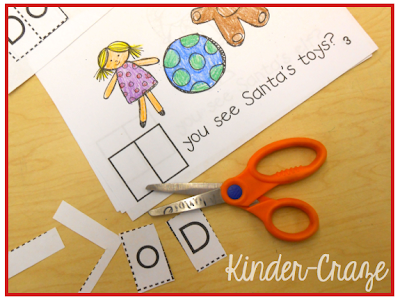 "interactive practice for sight word ""do"" - cut and glue into each page of the booklet"