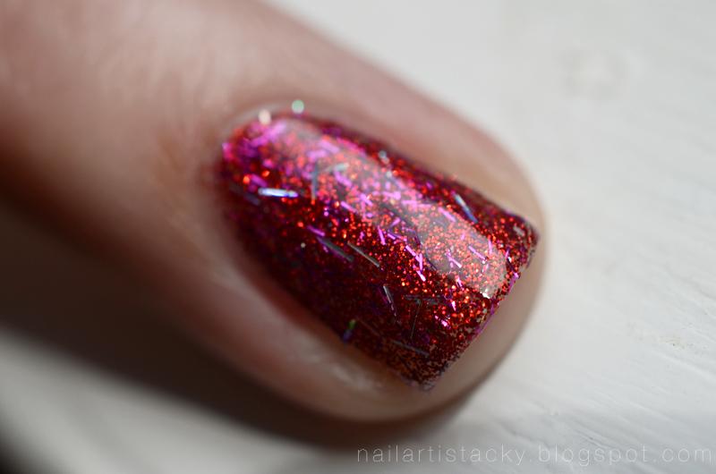 Tokidoki Donutella Nail Confetti Swatch