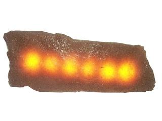 led ışıklı kırma kayrak duvar döşeme taşı 12 volt dc akım ile çalışır