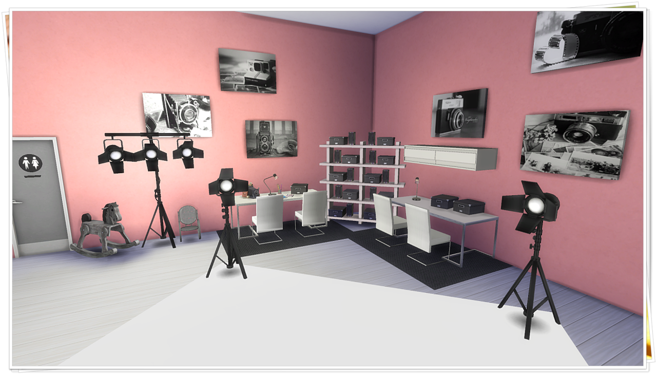My Sims 4 Blog Photography Studio By Tacha75