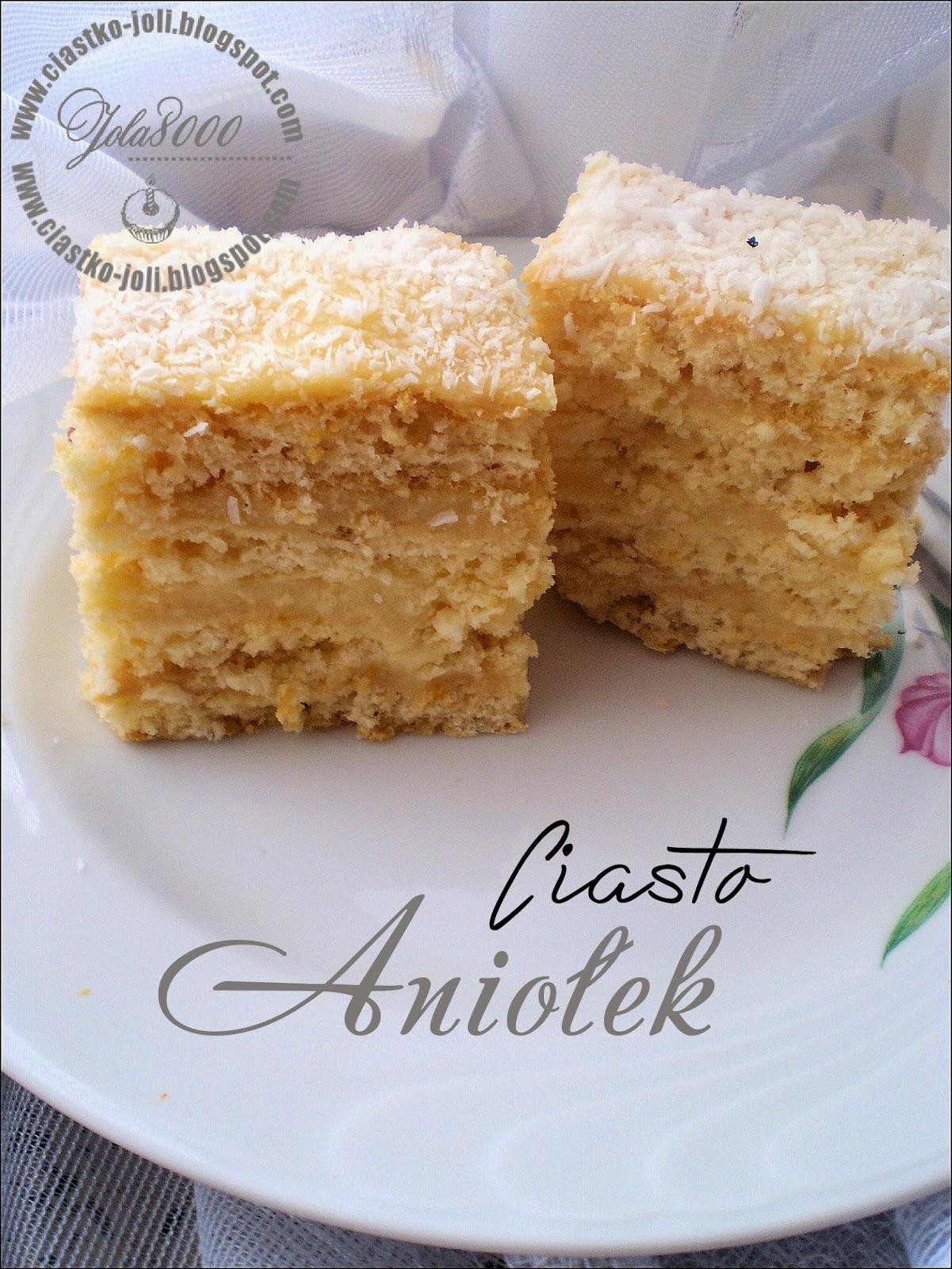 Ciasto Aniołek