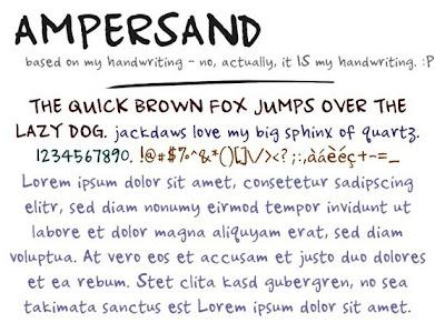 24 Font Gratis Bergaya Tulisan Tangan Handwritten Fonts