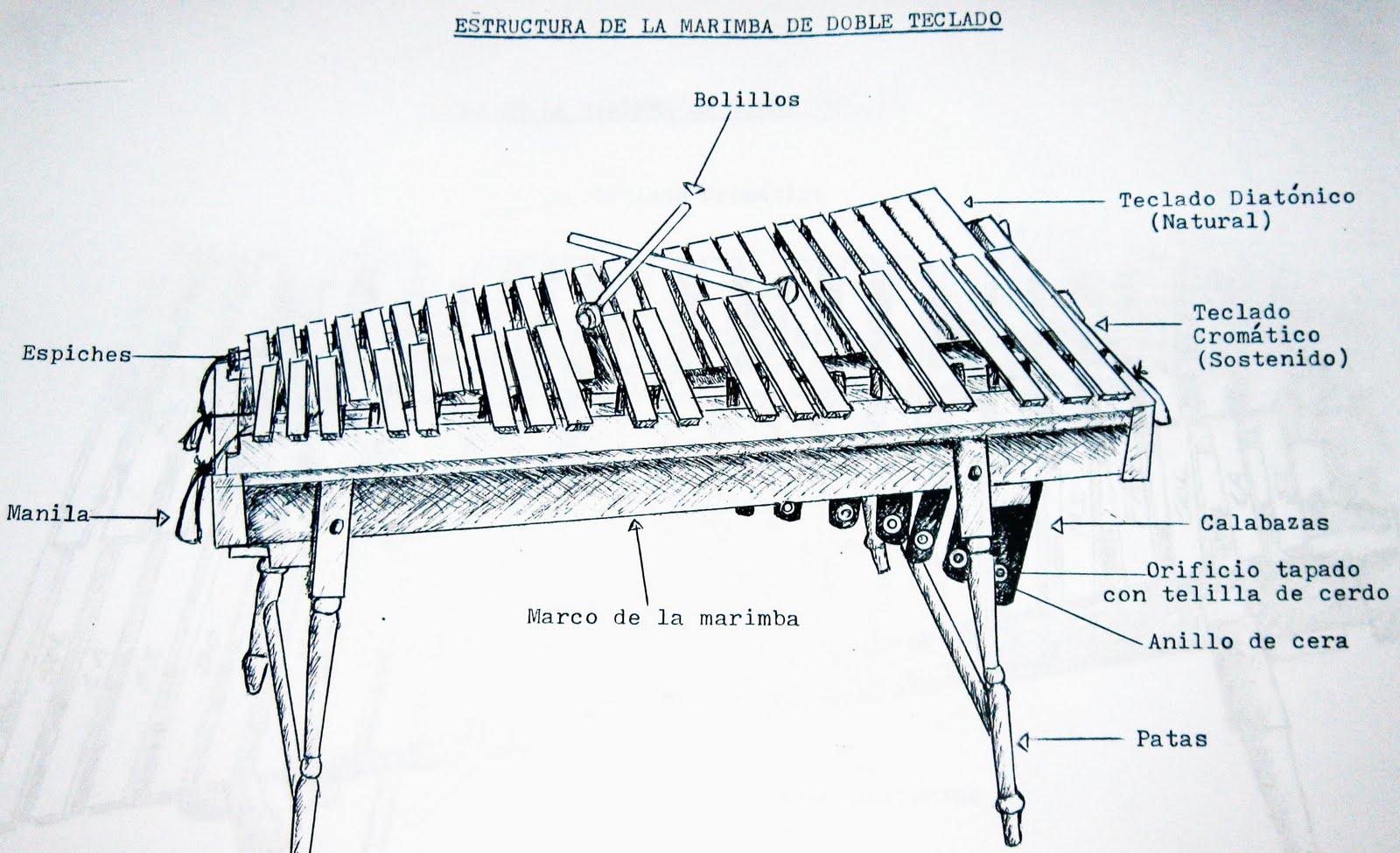 Marimba nicaragüense: Nuestro piano de madera: Cómo se hace una ...