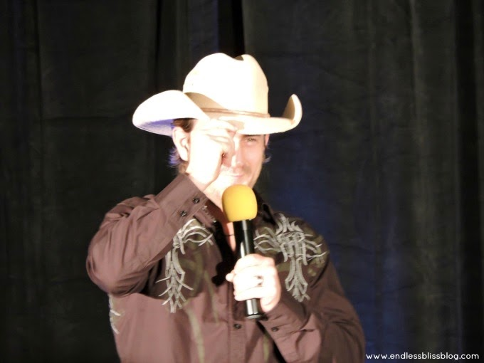 richard speight jr at supernatural con in houston, texas