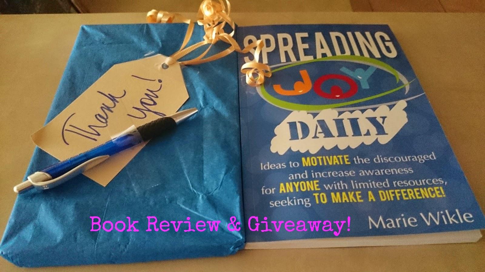 http://raisingsamuels.blogspot.com/2014/06/book-review-giveaway-spreading-joy.html