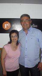 Con José Triviño,en Ripollet