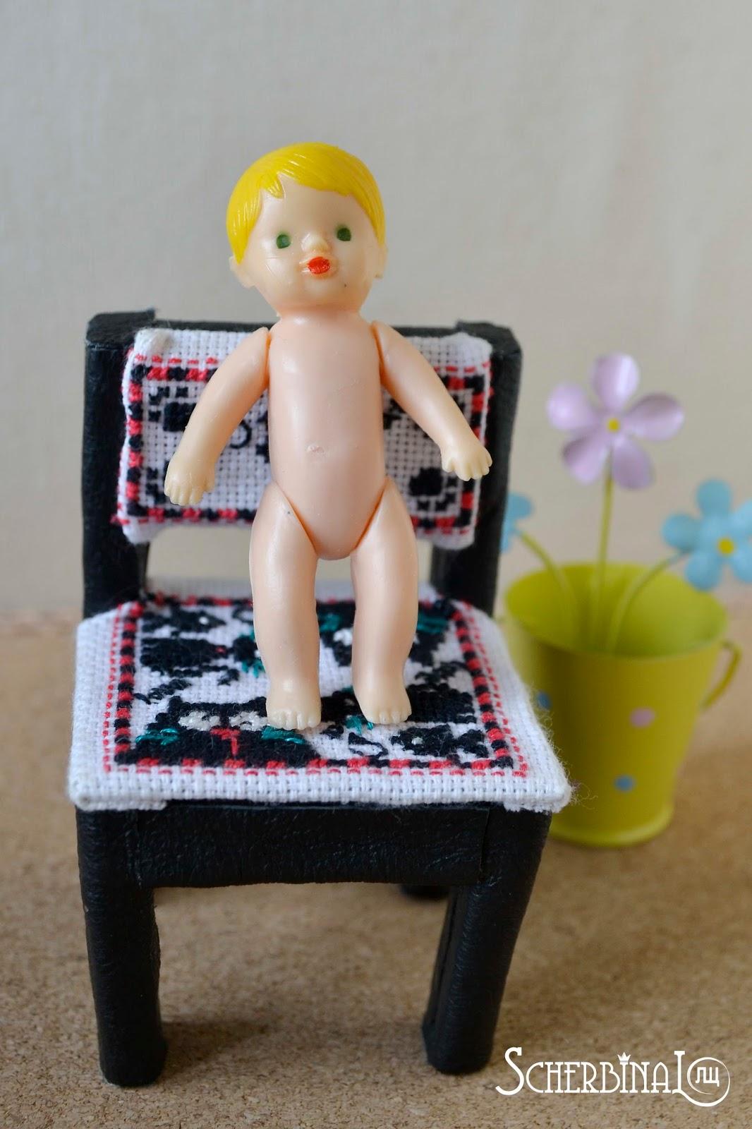 винтажные игрушки, пупсик СССР