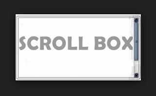 Cara mudah membuat kotak script dengan scroll pada postingan blog