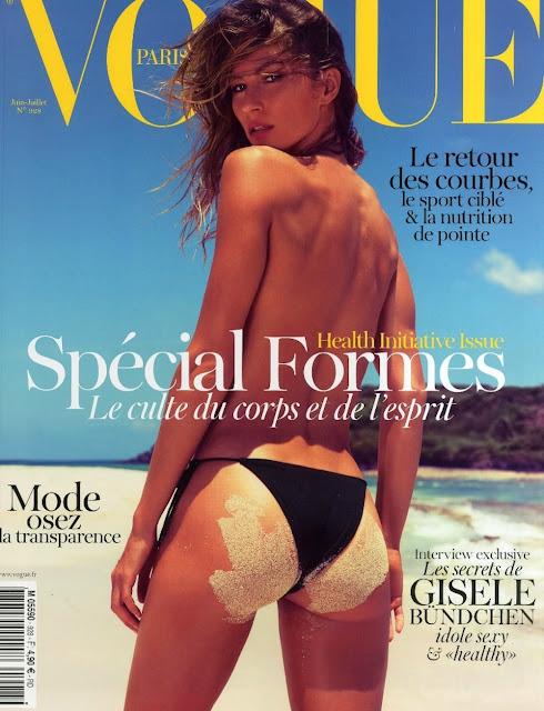 Inez & Vinoodh, Gisele Bundchen, swag icon, Emmanuelle Alt, editorial, Vogue Paris