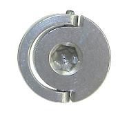 "Desmond Mini Hinged D-Ring 1/4""-20 Screw -hex socket head"