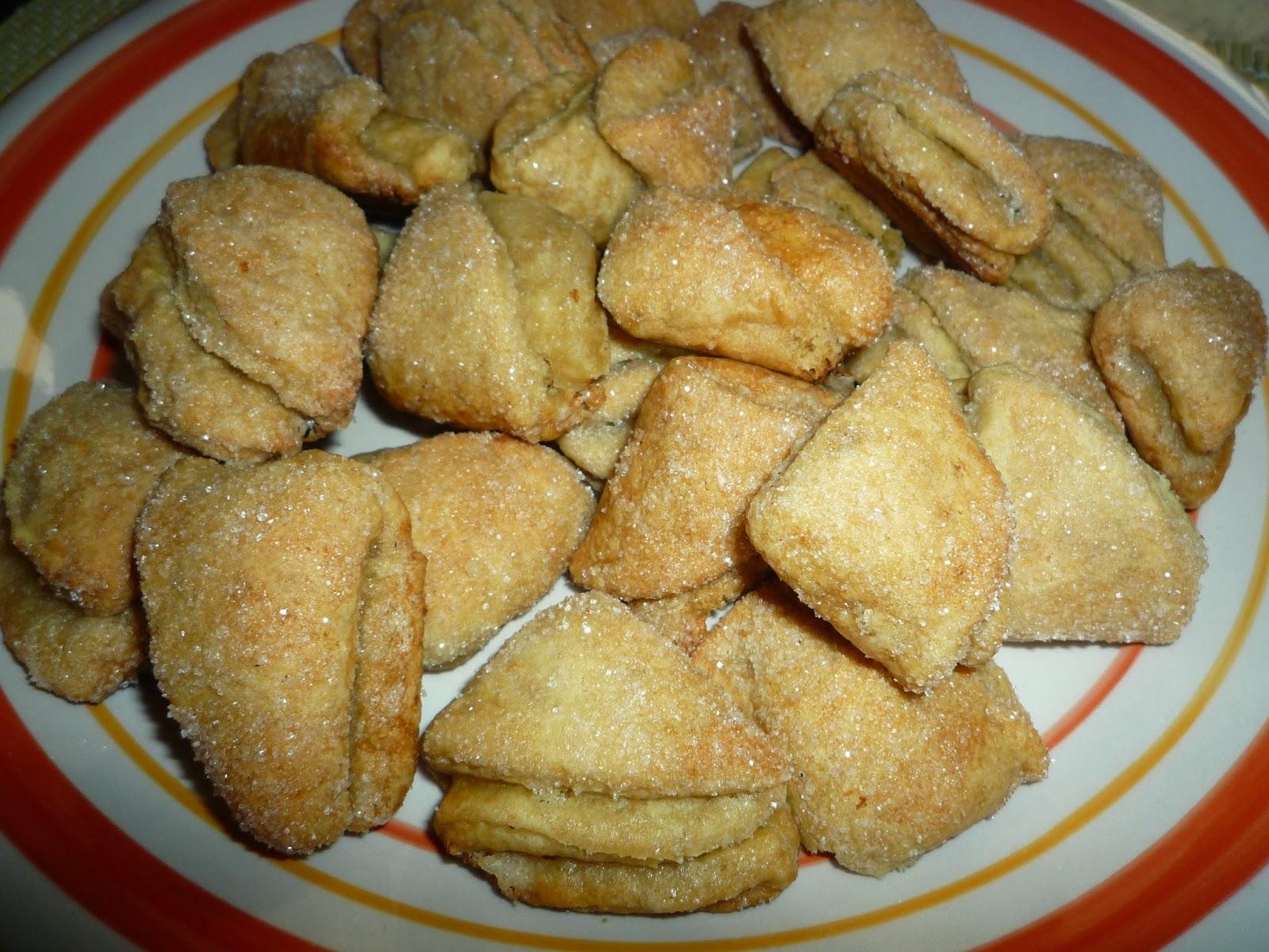"""galletitas """"Besitos"""" de ricota"""
