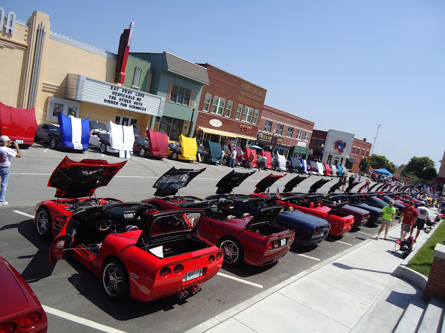 HOVER MOTOR COMPANY Corvettes Airplanes And Stock Cars The - Car show branson mo