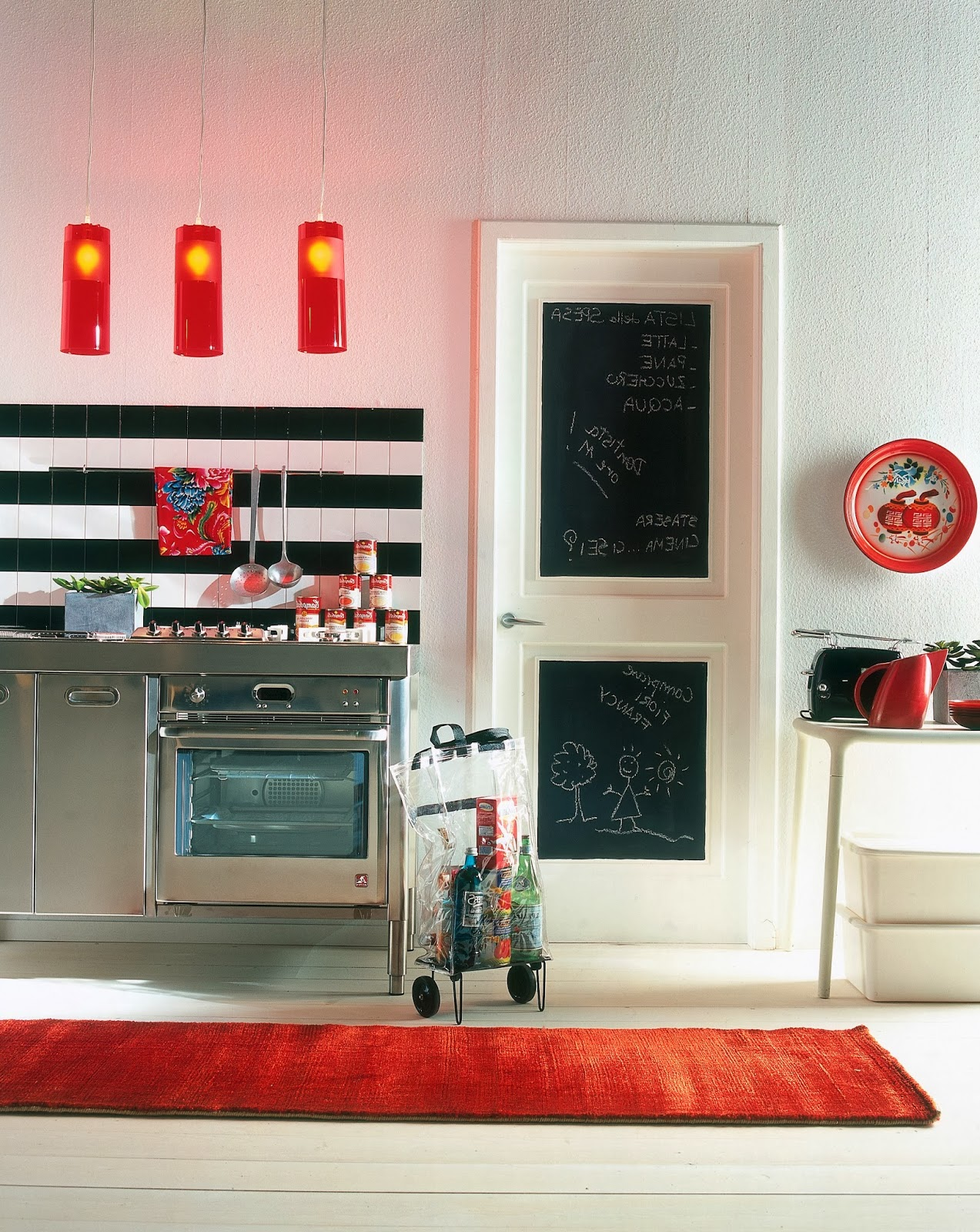 Pittura effetto lavagna - Pittura lavagna cucina ...