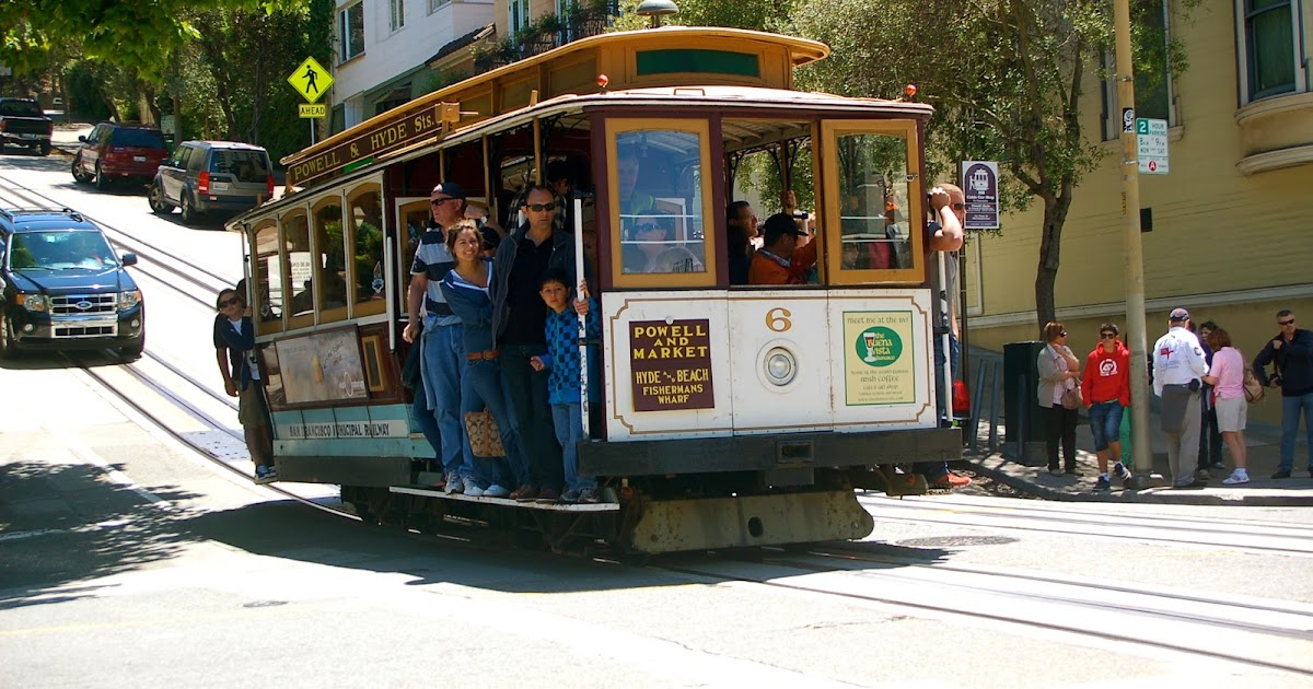 Adventures On The San Francisco Cable Car The World Of Deej