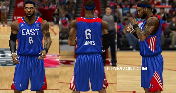 NBA 2k13 East All Stars Jersey Patch