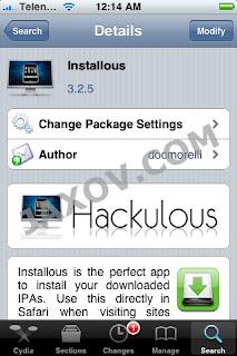 How To Jailbreak iPhone 4G Installous-Cydia