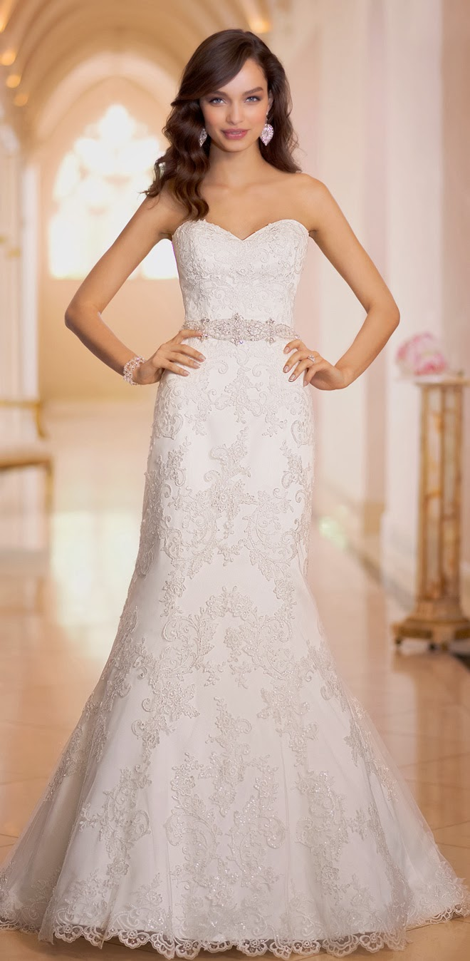 Lace Wedding Dress Stella York : Stella york fall belle the magazine