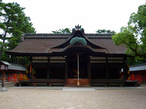 住吉大社第一本宮拝殿
