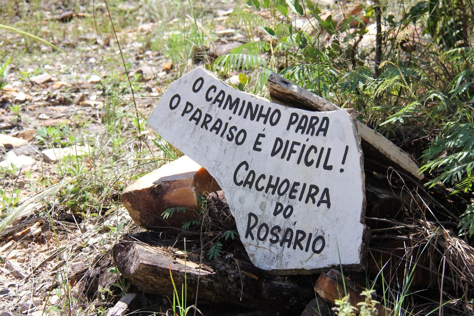 Cachoeira do Rosário em Pirenópolis