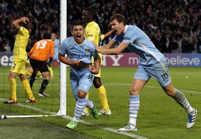 Manchester City 2 - 1 Villarreal (1)