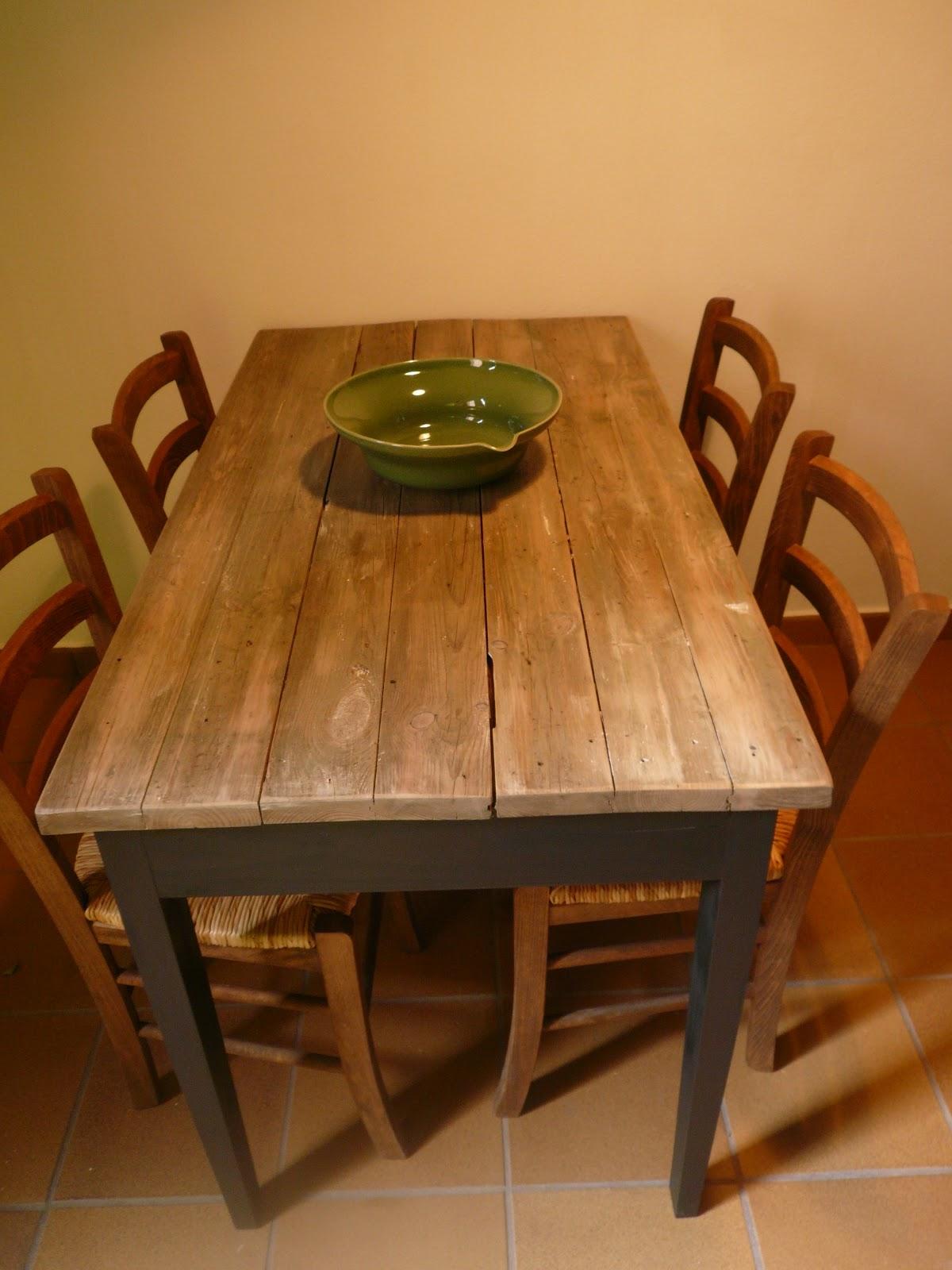 Mi las mobles taula de cuina a mida mesas de cocina a medida taules r stiques mesas r sticas - Mesa de cocina rustica ...
