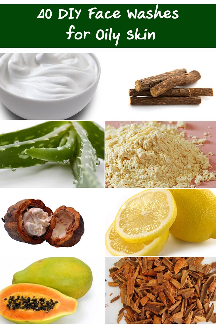 diy cleanser for oily skin