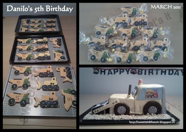 Bulldozer Cake Images