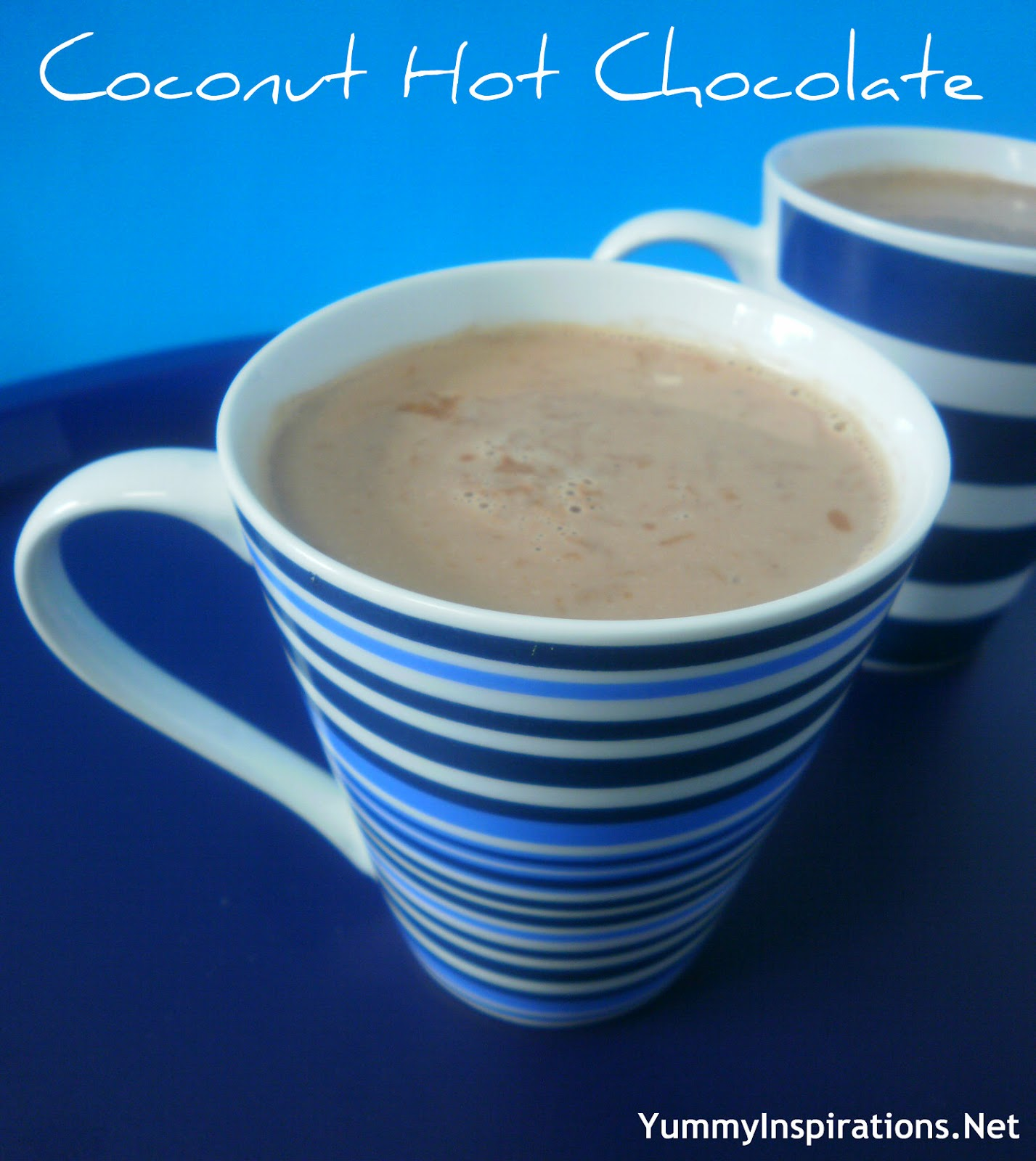 12 coconut hot chocolate