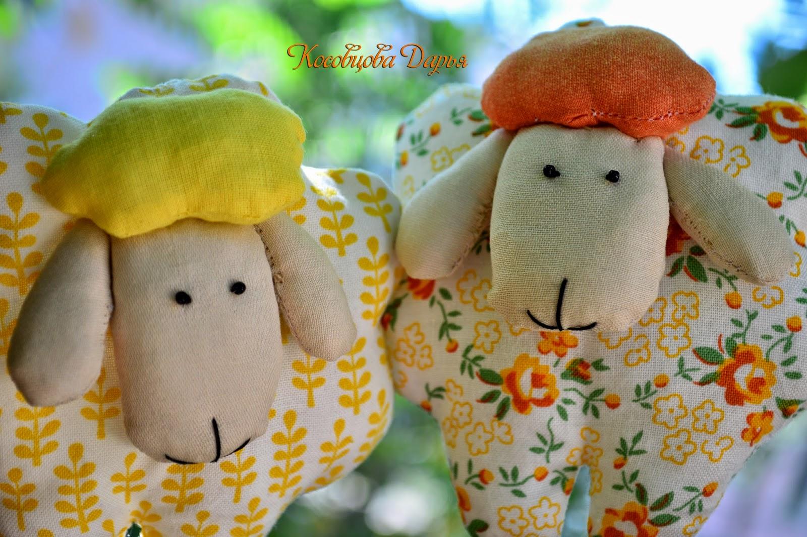 игрушка ручной работы, подарки на день рождения, игрушки для детей, купить подарок ручной работы Киев, овечки подружки