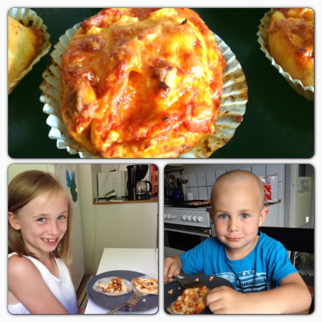pizzabullar på pizzakit