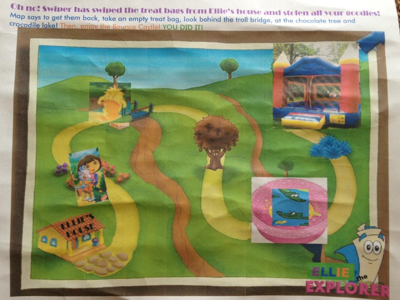 Teach Academy Dora the Explorer Birthday Party THE GAMES AND