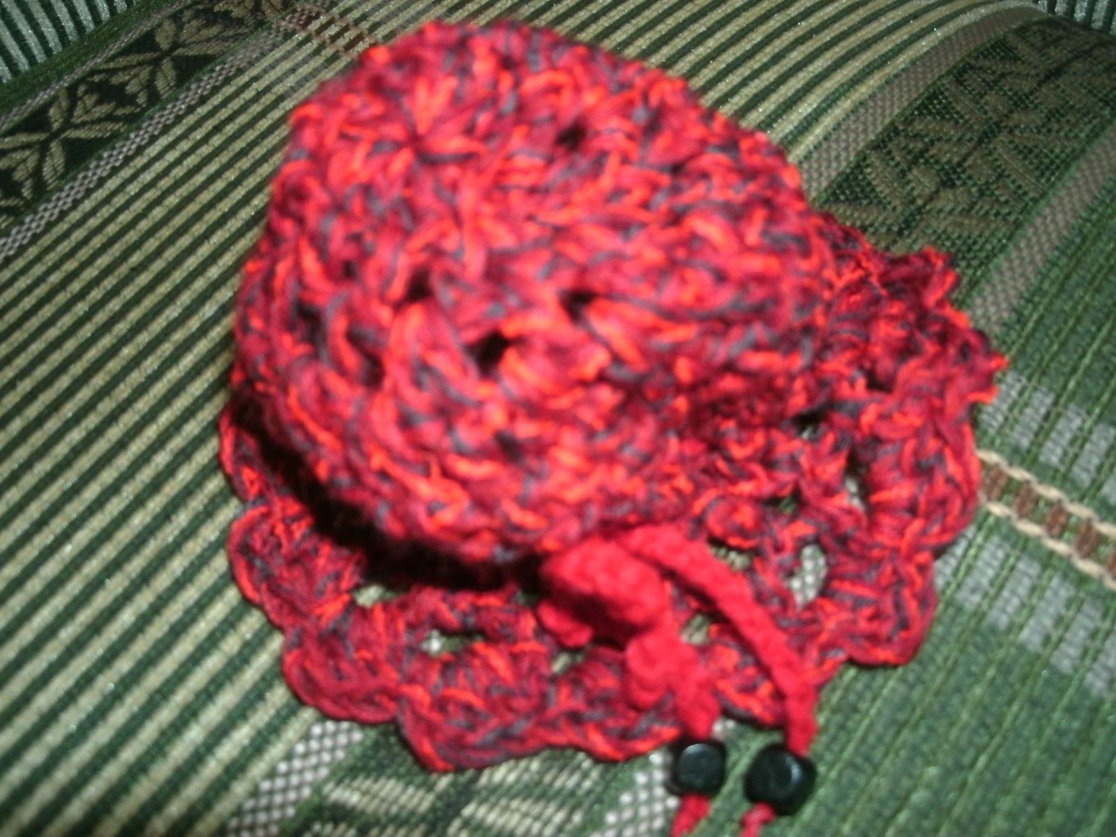 Accesorios para el cabello tejidos a crochet,. Moñeros. Publicado
