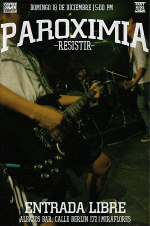 PAROXIMIA - RESISTIR