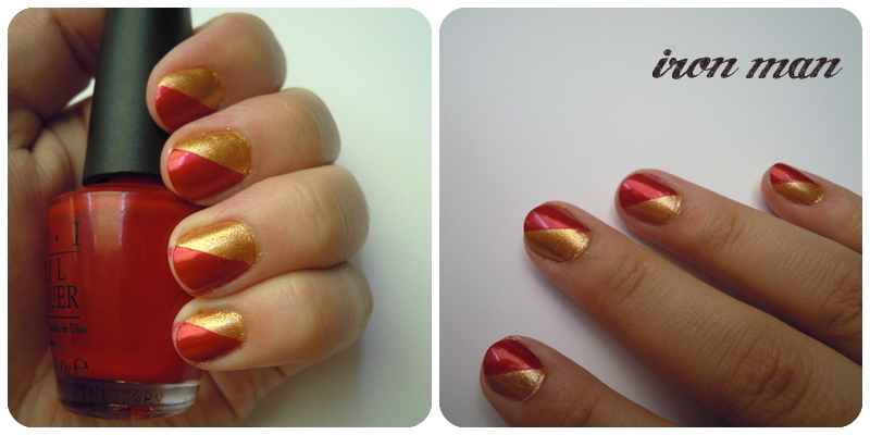 Keys to our Karma: avengers nails