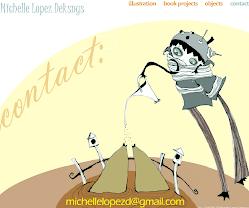 La ilustradora: Michelle López Deksnys