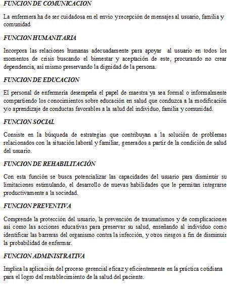 funciones clases de funciones: