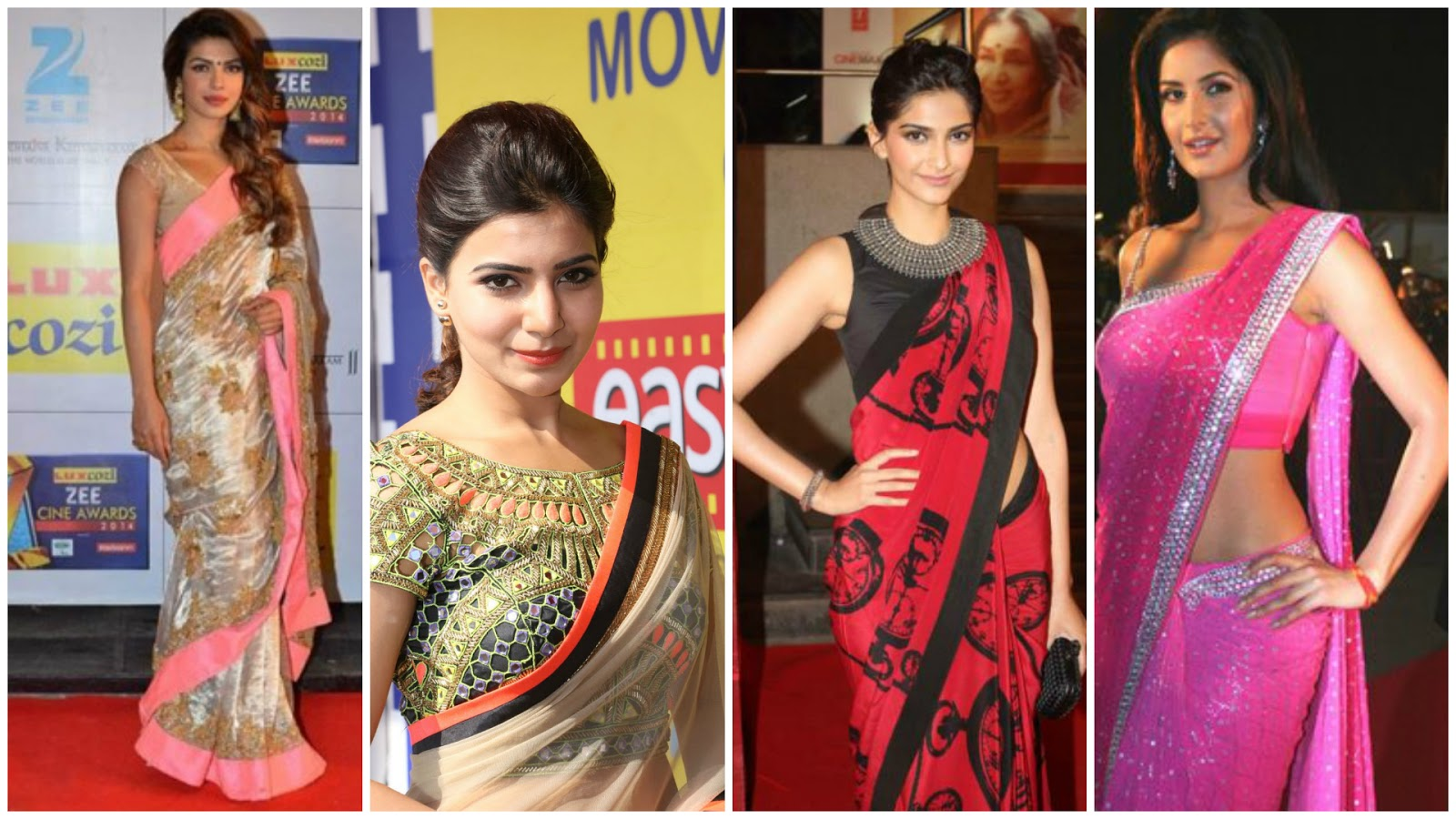 Celebrity Saree Blouse Embroidery & Tailoring - Home ...