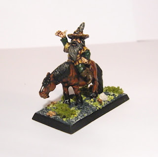 Dwarf Wizard on Pony - Actually Tom Bombadil from the 80s LOTR range