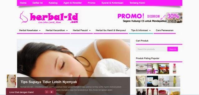 Herbal-id.com Toko Online Herbal Indonesia Terpercaya