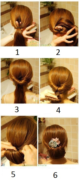 She exists 30 amazing hairstyles diy Diy fashion of hairstyle