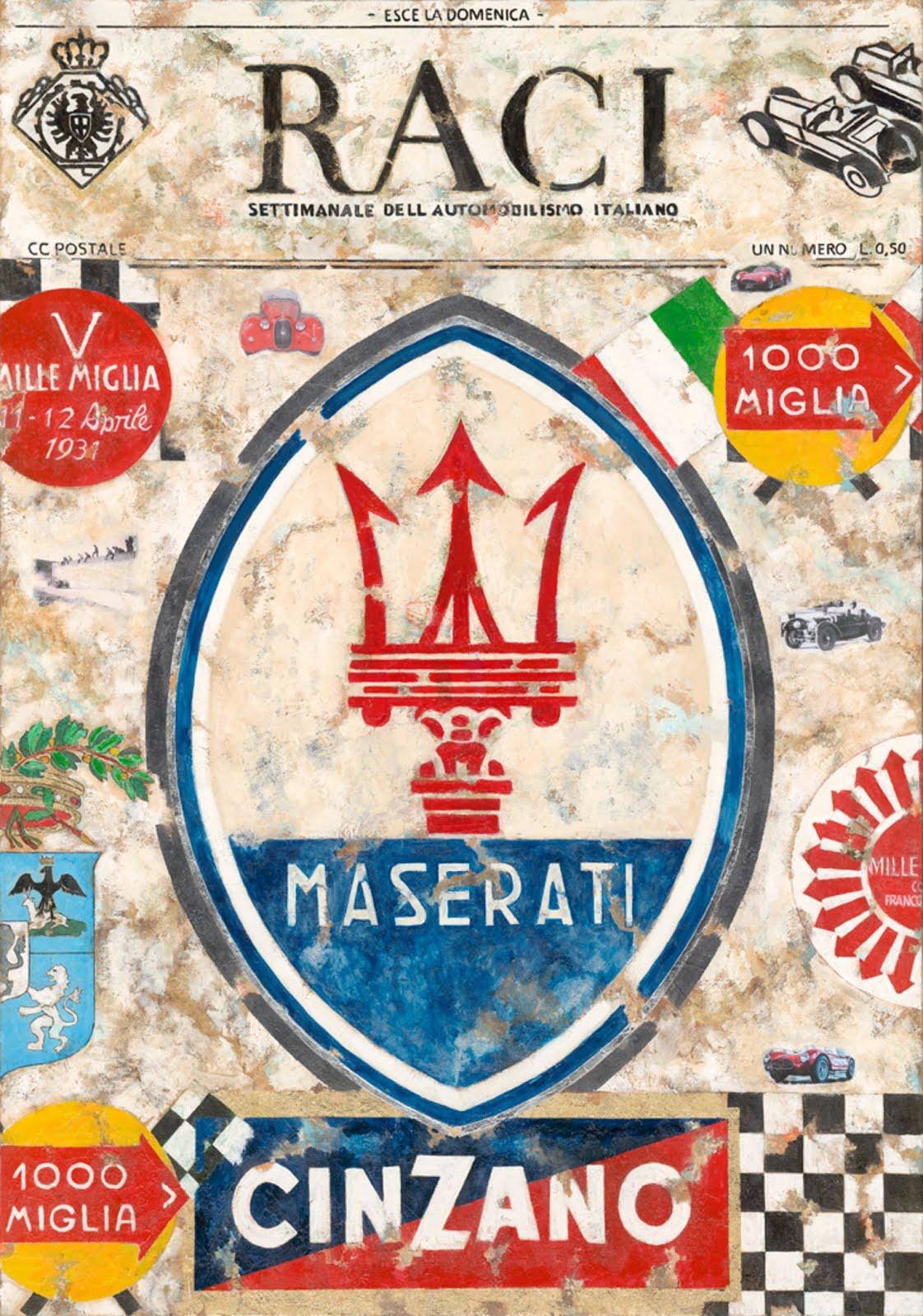 Maserati Canvas
