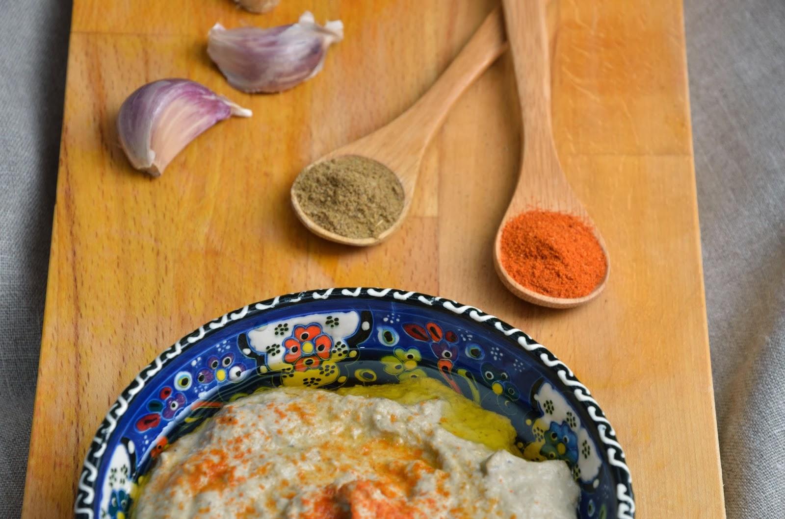 Baba ghanoush, pasta z bakłażana