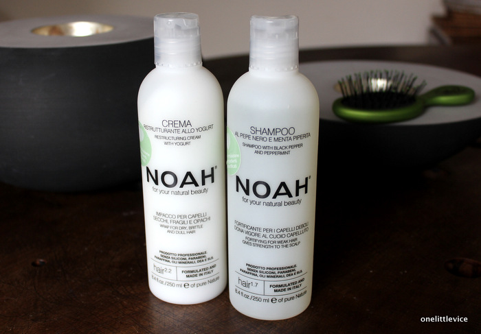 one little vice beauty blog: natural and sls free shampoo and conditioner