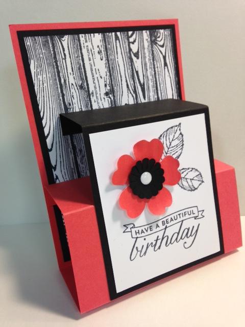 A Flower Shop Pop Up Birthday Card