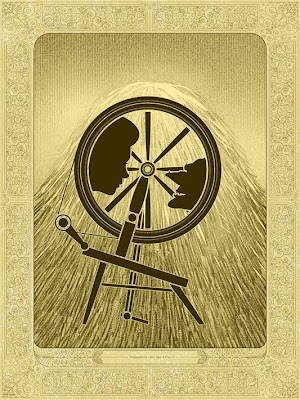 Mondo Once Upon A Time Print Series - &#8220;Rumpelstiltskin&#8221; Gold Variant Screen Print by Kevin Tong